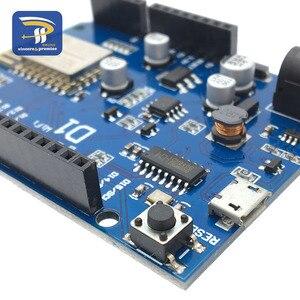 Image 3 - ESP 12F 12E WeMos D1 WiFi UNO أساس ESP8266 درع ل Arduino R3 مجلس التنمية متوافقة IDE