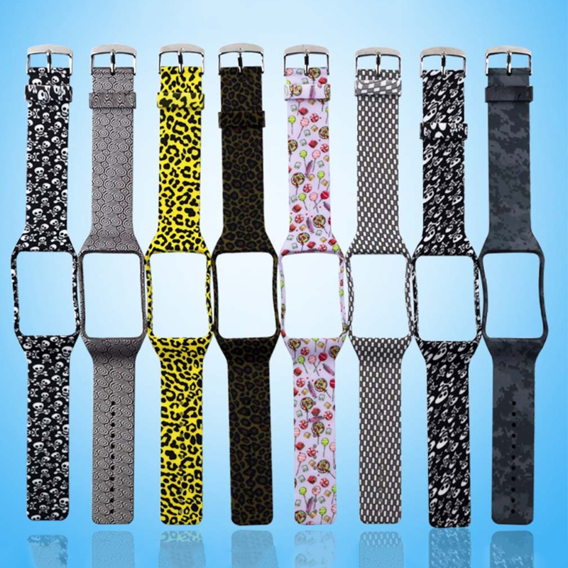 OOTDTY Silicone Watch Band Strap Replacement For Samsung Galaxy Gear S R750 Smart Watch