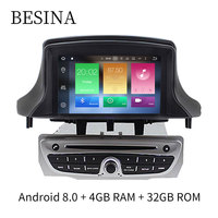 Android 8 0 Car DVD Player For Renault Megane Fluence 2009 2010 2011 Wifi Bluetooth CANBUS