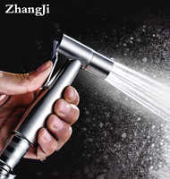 Zhangji Acero inoxidable Baño de mano Spray Bidet pulverizador Set kit de baño mujeres Bidet grifo boquilla de enjuague multifuncional
