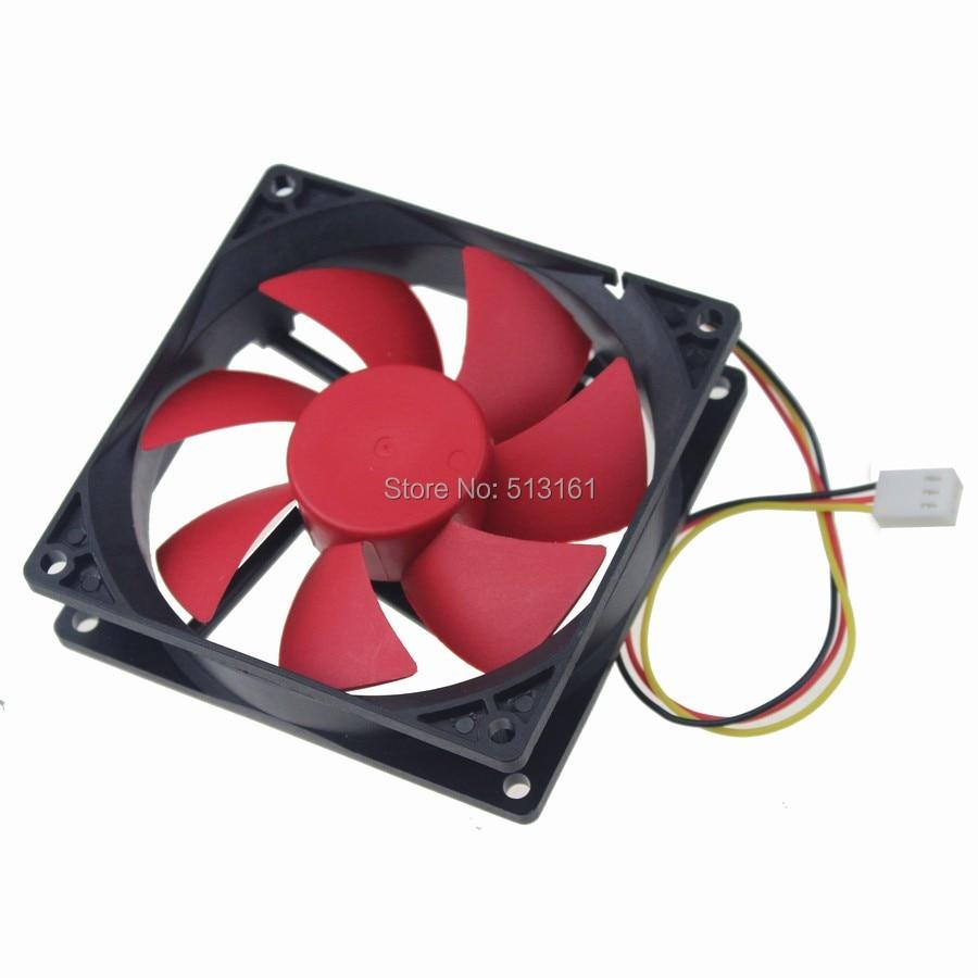8pcs/lot Gdstime 9cm 90mm 90x90x25MM 9225 DC 12V 3-Pin PC Computer CPU Cooling Fan