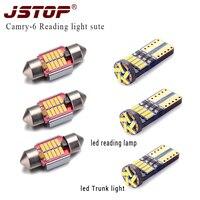 6piece Set Reading Light 31mm Festoon Canbus Reading Light 12V Bulb W5w T10 Lamp Led T10