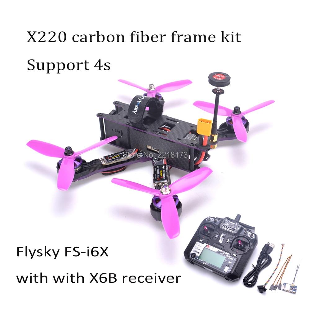 X220 220mm Quadcopter Cadre F3 Acro Vol Contrôle Littlebee 30A BLHeli_S ESC 2205 2300kv TS5828/Flysky FS-I6X Pour l'assistant 220