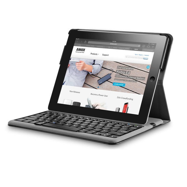 Fashion Bluetooth Keyboard case for 9.7 inch Apple Ipad 2 3 4 Tablet Pc for ipad 2 case Keyboard