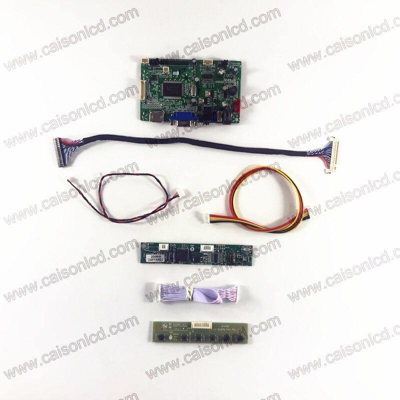 RTD2668 LCD contrôleur carte prise en charge HDMI VGA Audio pour 20 pouces LCD panneau M200FGE-L20 M200RW01 V6 LM200WD3-TLF2 TLF1 TLC7 bricolage