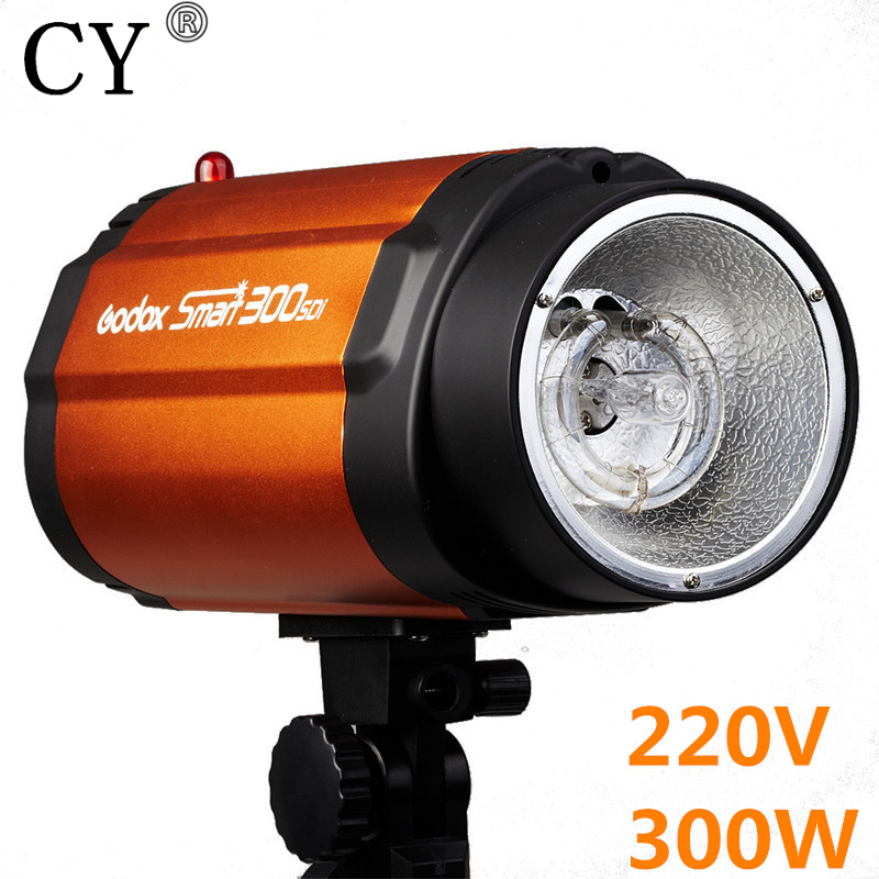 300W 220V Godox Smart 300SDI Photography Studio Mini Strobe Flash Light Monolight 300sdi Photo Studio Photographic Lighting godox smart 300sdi 300ws flash studio photography light orange ac 220v 3 flat pin plug