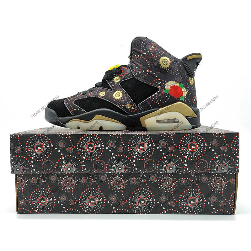 Simulators Contemplative Breathable Jordan Retro 6 Vi Men Basketball Shoes Cny Gatorade Infrared Unc Blue Wheat Athletic Breathable Sneaker Discount Sale Promote The Production Of Body Fluid And Saliva