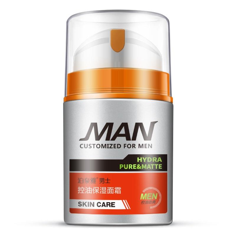 50g BIOAQUA Men Skin Care cream set face care Deep Hydrating Moisturizing Oil-control Whitening Anti Wrinkle Anti-Aging Cream
