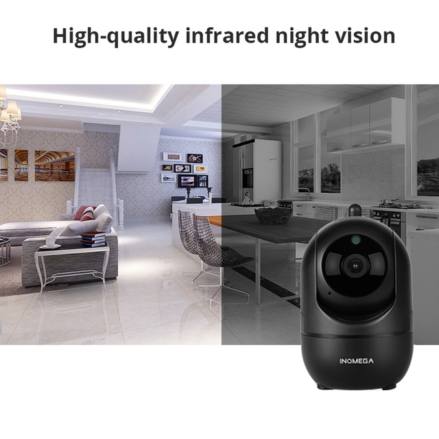 INQMEGA HD 1080P Cloud Wireless IP Camera Intelligent Auto Tracking Of Human Home Security Surveillance CCTV Network Wifi Camera 3