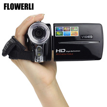 FLOWERLI New 3 Inch TFT LCD 720P HD 20MP Digital Video Camcorder 16x Digital Zoom DV Camera High Quality #0