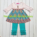 2016 hot sale  Fall winter persnickety girl remake outfits boutique kids clothes sets