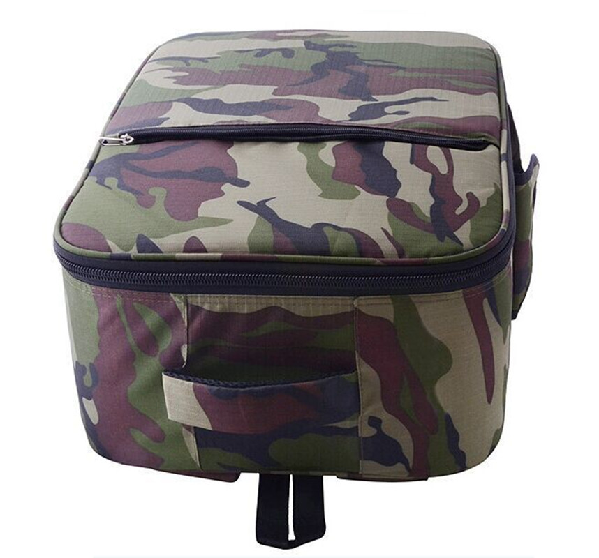 F08632 Cool Army Green Shoulder Bag Backpack for Phantom font b Drone b font
