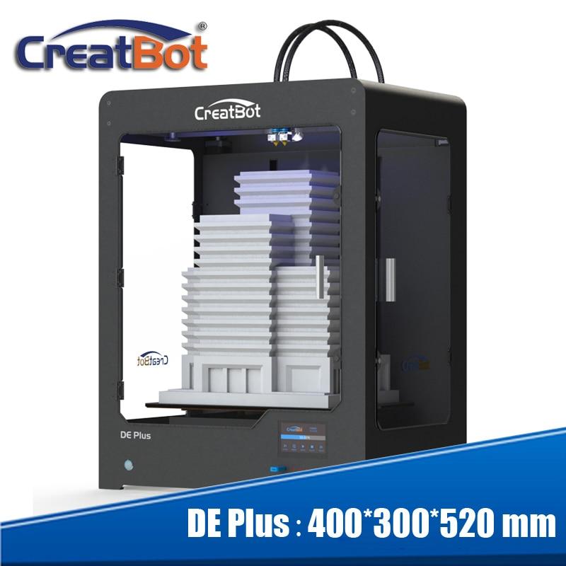 Creatbot 0,4 mm sprauslas trīs 400 grādu ekstrūderi Metāla rāmja - Biroja elektronika - Foto 1