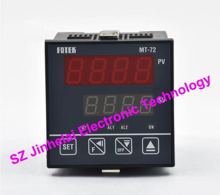 MT72-R,  MT72-V,  MT72-L  New and original FOTEK  Intelligent temperature controller 100% new and original fotek photoelectric switch a3g 4mx mr 1 free power photo sensor