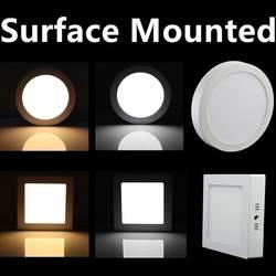 1 шт. 9 Вт 15 Вт 25 Вт Led Панель свет поверхностного монтажа светодиодные светильники освещения 110-240 В + драйверы