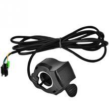 12-99 в для электровелосипеда, дроссельная заслонка с ЖК-дисплеем, руль для электрического скутера, черные ручки дроссельной заслонки для электрического велосипеда, аксессуары