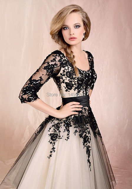 Best Sale Modest Neckline A Line Special Occasion Prom Dresses-in ...