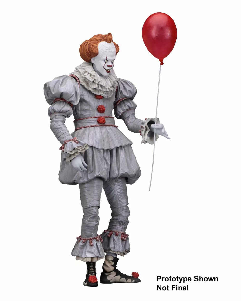 18cm pvc anime figure 스티븐 킹스 이블 조커 the clown pennywise 피겨 모델 완구 2017 공포 팬들을위한 collectible gifts