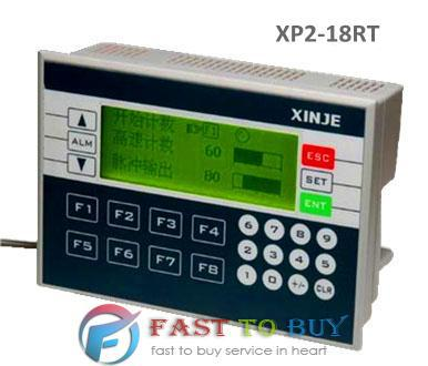 Integrated PLC XP2-18RT 10-point Digital Input 8-point Digital Output 3.7 Blue LCD Integrated PLC & HMI New new ac220v 28 point npn input 20 point transistor output xd3 48t e plc