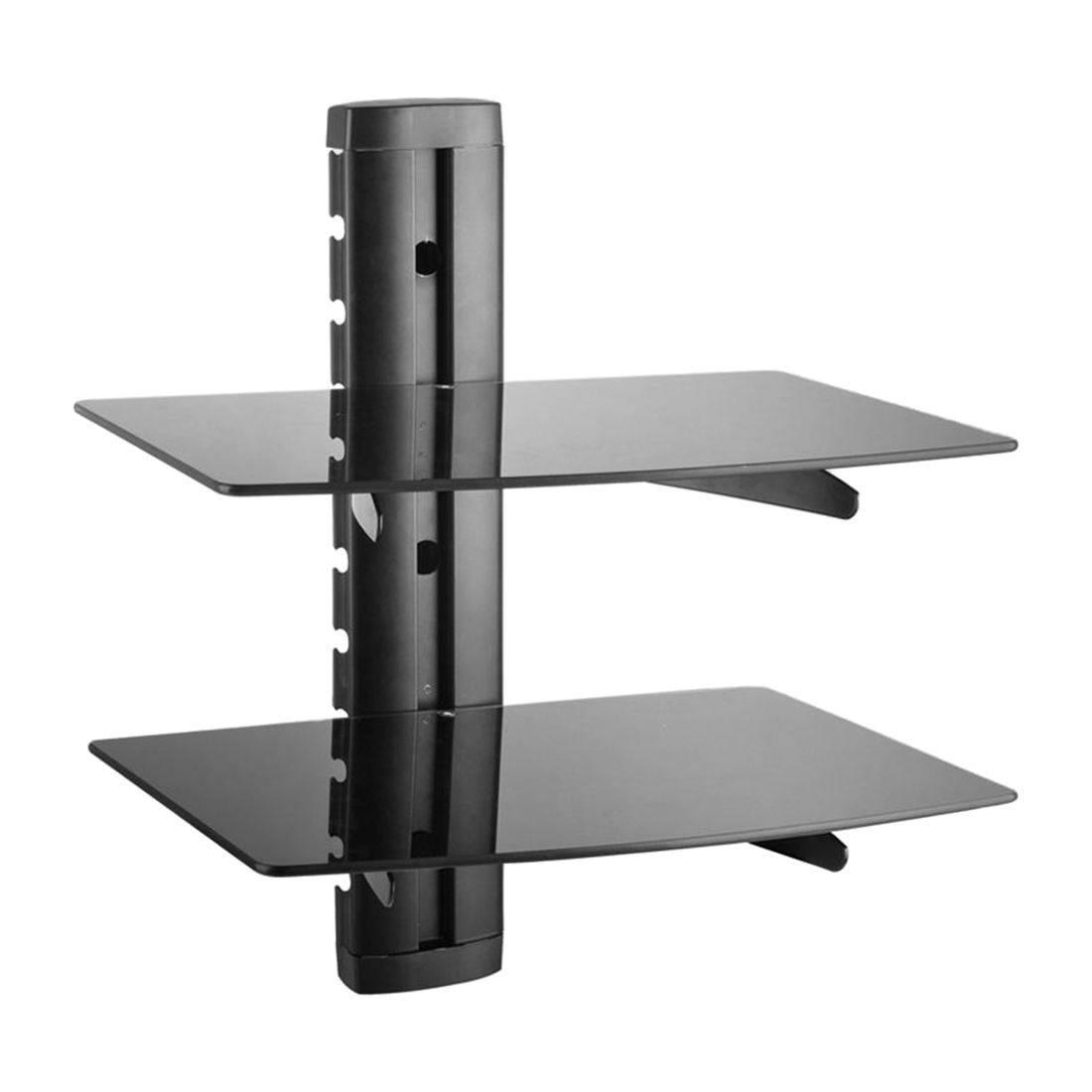Black Gl Dvd Shelves Shelf For