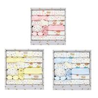 18Pcs Cotton Baby Clothes Newborn Gift Set 0 3 6 Months Newborn Full Moon Baby Maternity Products Soft Cotton Clothes Suit