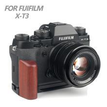 Wood Pro вертикальный l-образный кронштейн для штатива быстросъемная пластина базовая ручка для Fuji Fujifilm X-T3 XT3 XT-3 камера Arca-Swiss