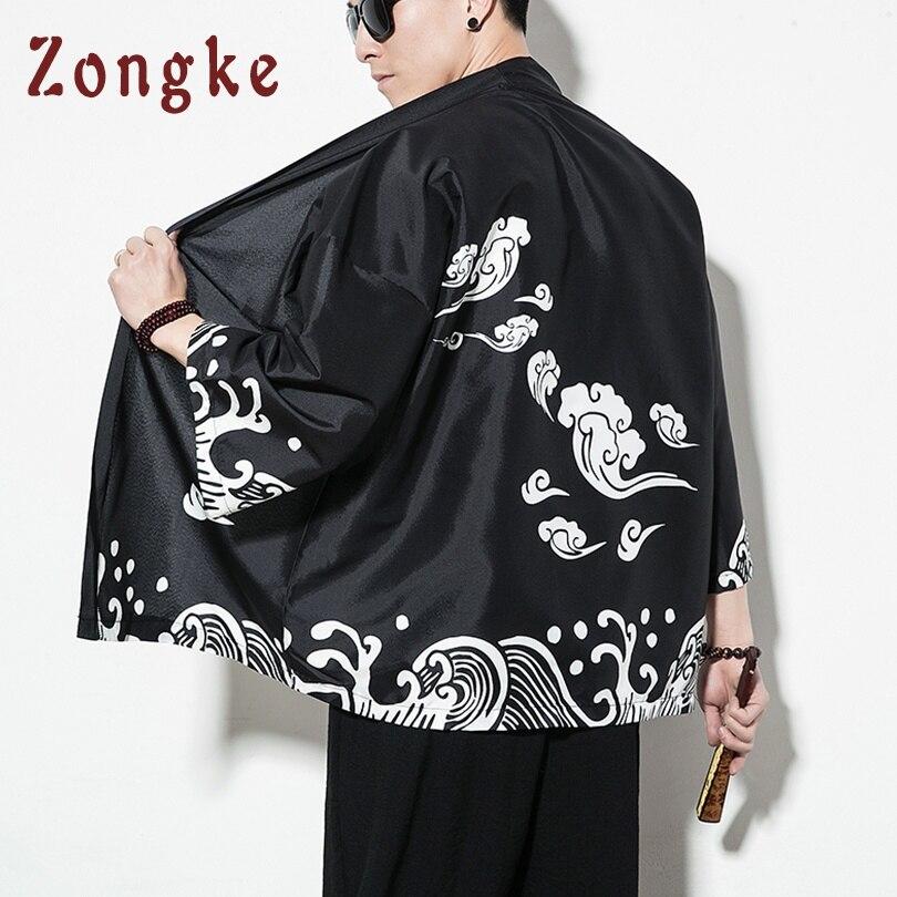 Chinese Dragon Streetwear Kimono 4