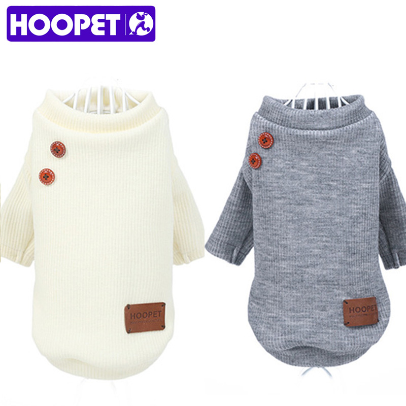 HOOPET New Pet Coat Clothes for Cats Dog Jacket Spring Clothes Puppy Cat Sweater Clothing Coat