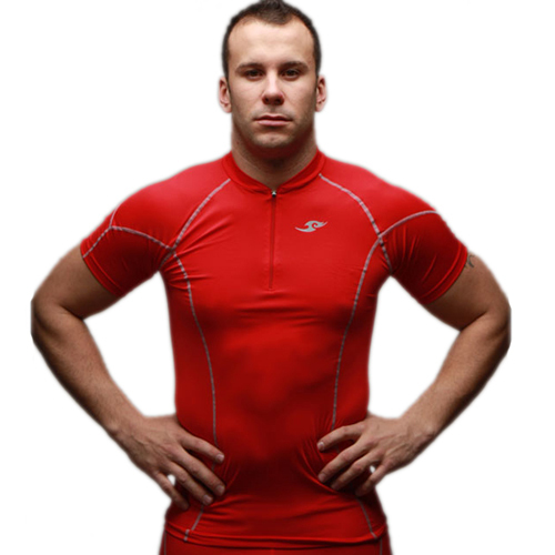 2015 Lines Compression Base Layers Herre Casual T-skjorte Kortermet skinn Gear Thermal Top Tee M-XXL