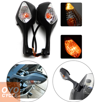 For 2008-2013 Honda CBR1000RR CBR 1000RR 2010-2012 VFR1200 VFR 1200 Pair Motorcycle Rearview LED Turn Signal Side Mirrors Black