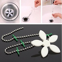 NEW 5 Pcs Chain for kitchen sink toilet package evacuation wig chain bath remove chain chain clean tools