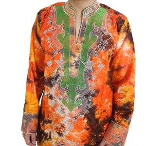 Image 4 - MD vêtements africains pour hommes, bazin riche, robes africaines pour hommes, chemises, haut, pantalon, costume dashiki africain, vêtements pour hommes