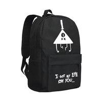Kids Backpack Gravity Falls Shoulder Bag Children Bookbag Bill Cipher Daypack