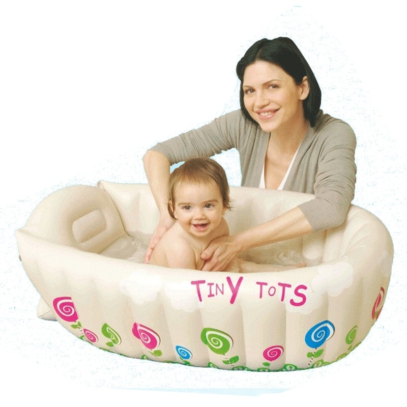 Newborn Infant Bath Seat Chair Inflatable Baby Bathtub Swimming Pool Cartoon Safety Bath Tub Toddlers Kid Protable vtech splashing songs ducky bath toy newborn kid child children infant baby