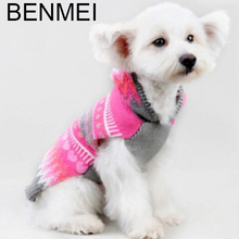 BENMEI Dog Pullover Hoodie Sweater Clothes For Dogs For Small Large Dog Needlework Products Knitting Christmas Sweater Costumes