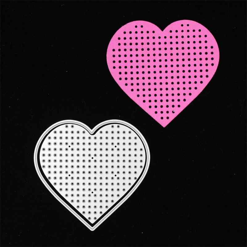 KSCRAFT Heart Stitching Frame Metal Cutting Dies Stencils for DIY Scrapbooking/photo album Decorative Embossing DIY Paper Cards