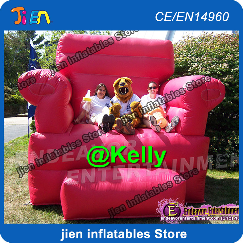 Inflatable Kids Birthday Chair: Free Shipping Inflatable Throne Chair For Birthday Party