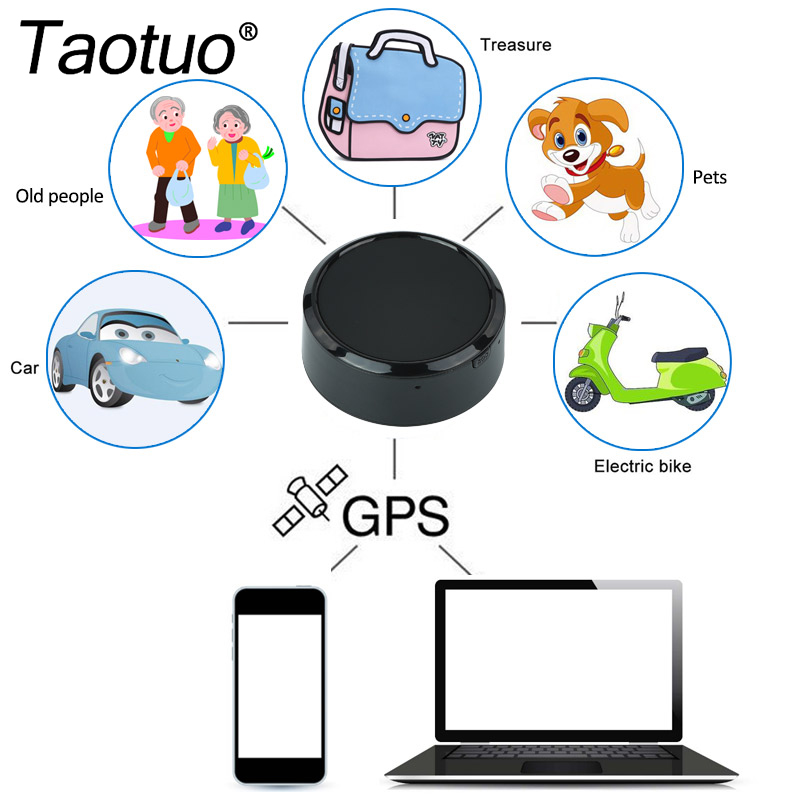 black mini car gps tracker anti theft car gps supplies google link real time tracking device gsm alarm locator for kids pet bag