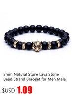 лава камень натуральный камень бусины прядь браслет для мужчин корона череп мужской кулон талисманы ювелирные изделия интимные аксессуары дропшиппинг