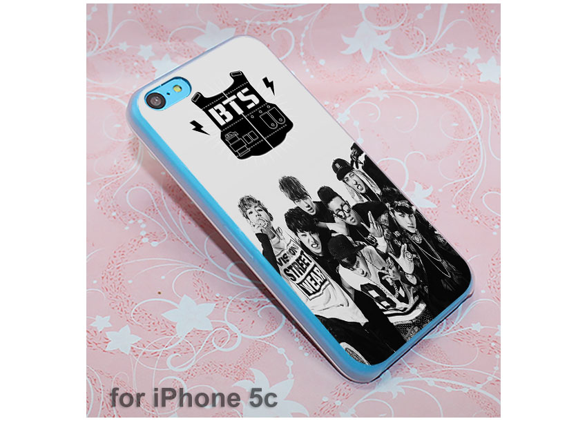 HTB1gJRzQXXXXXbGXXXXq6xXFXXXr - Boys BTS Korean Hip Hop Kpo design hard clear Case Cover for Apple iPhone 7 6 6s Plus SE 4s 5 5s 5c Phone Case PTC 226