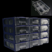 12PC/Set Drawer type component box organizers Tool Box Conta