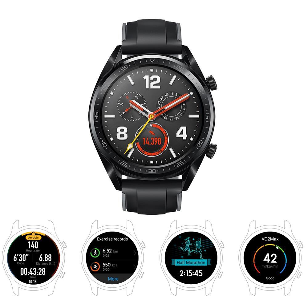 Image 2 - Huawei Watch GT Smart watch water proof Phone Call Support GPS Heart Rate Tracker For Android iOS-in Smart Watches from Consumer Electronics