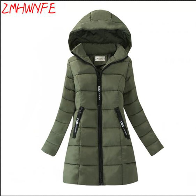 2017 New Arrival Rushed Full Womens Winter Jackets And Coats Women's Winter Coat In The Long Section Of Thick Cotton Jacket