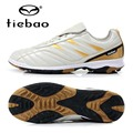 TIEBAO Brand Professional Outdoor Football Kids Soccer Boots TF Turf Sloes Soccer Shoes Training Sneakers botitas de futbol