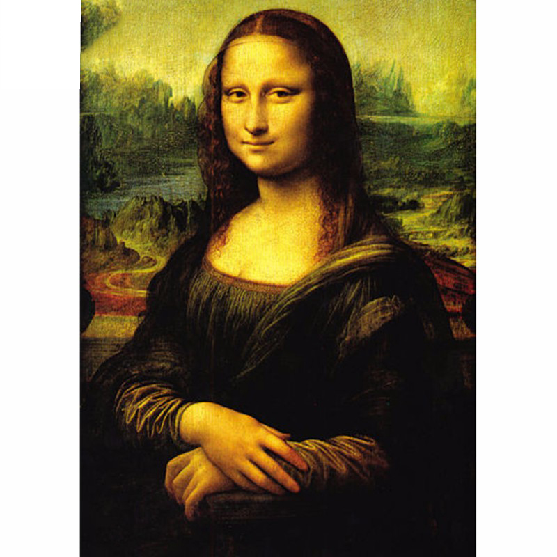 5D DIY Full Drill Mona Lisa Diamond Painting Kits Embroidery Arts Decors Gifts