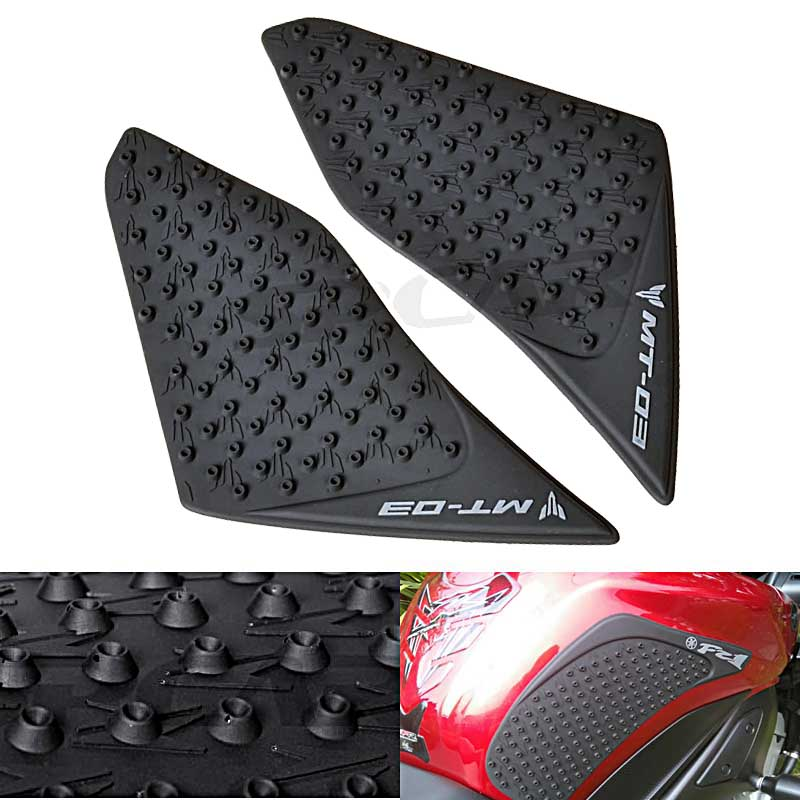 For Yamaha MT-03 MT03 MT 03 2015-2016 Motorcycle Protector Anti slip Tank Pad Sticker Gas <font><b>Knee</b></font> Grip Traction Side 3M Decal