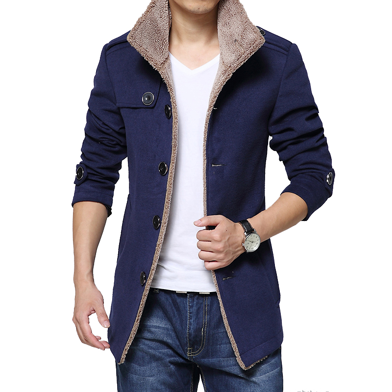 Popular Mens Long Coat-Buy Cheap Mens Long Coat lots from China ...