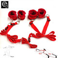 Bdsm Sex Toy Bondage Sex Bondage Bed Kit Set Sex Toys For Woman Sex Games For Married Couples Erotic Handcuffs ELDJ123