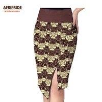 2018 spring&summer african skirt for women AFRIPRIDE normal waist knee length casual women skirt 100% batik cotton A722711