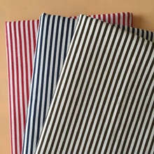 Patchwork Cotton Twill Fabric Vrious Color Options Stripe Printed Abrasion-Resistant Sewing Linen Material Cloth